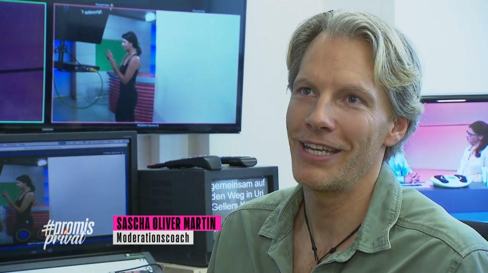 TV-Moderator und TV-Coach Sascha Oliver Martin